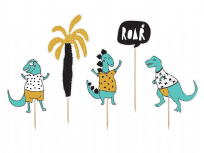 Dinosaur Themed Cake Toppers (5)